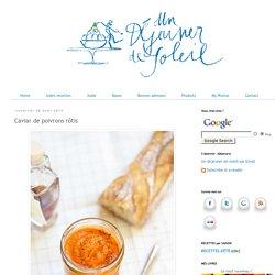 Caviar de poivrons rôtis