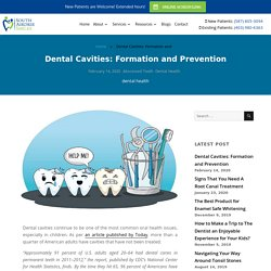 Cavities: Formation And Prevention