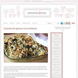 Cazuela de quinoa con verduras