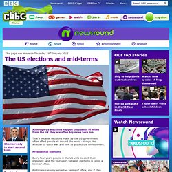 CBBC Newsround - The US elections and mid-terms