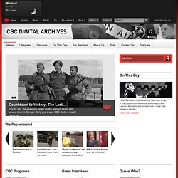 CBC Archives