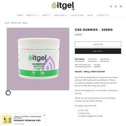CBD Gummies 300mg for Sale