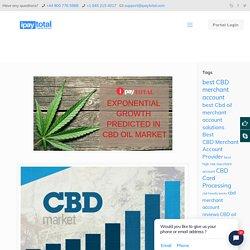 CBD Market Set for Huge Growth