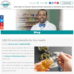 CBD Oil and Its Benefits for Your Health