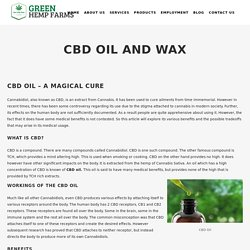Wholesale Cbd Wax