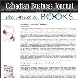 The Canadian Business Journal- Book Review