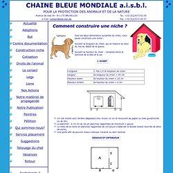 Niche a chien pearltrees - Comment fabriquer une niche en bois pour chien ...