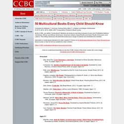 CCBC Booklists