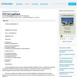 CCF Art appliqué - Fiche - oceemscn