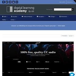 Cchound : une bibliothèque de musiques libres de droits pour n'importe quel projet ! —Siècle Digital