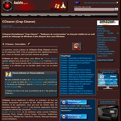 CCleaner (Crap Cleaner)