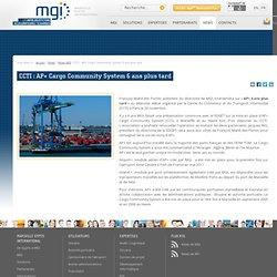 CCTI: AP+ Cargo Community System 6 ans plus tard