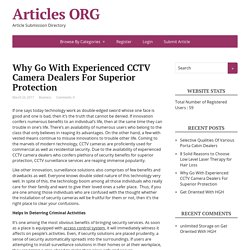 CCTV Camera Dealers