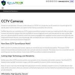 CCTV Cameras - Callteks