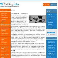 Cabling Jobs