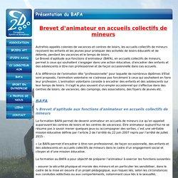 CD2000 - Présentation du BAFA
