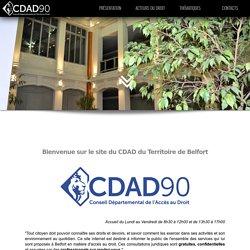 CDAD90 Accueil