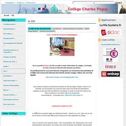 Collège Charles Péguy, projet médias, Twitter