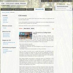 CDI - COLLEGE IQBAL MASIH