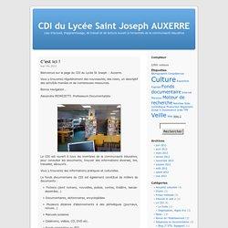 CDI du Lycée Saint Joseph AUXERRE