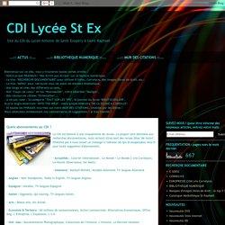 CDI Lycée St Ex: Quels abonnements au CDI ?