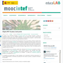 CDigital_INTEF: Un placer y hasta pronto