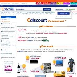 CDiscount : Espace client