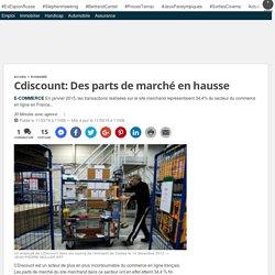 Cdiscount: Des parts de marché en hausse