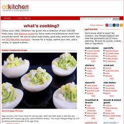 CDKitchen - Recipes, copy cat recipes, desserts, cooking tips