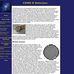 CDMS II Detectors