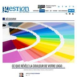 Ce que révèle la couleur de votre logo...