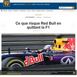 Ce que risque Red Bull en quittant la F1
