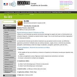 En CE2 - Canopé Académie de Grenoble