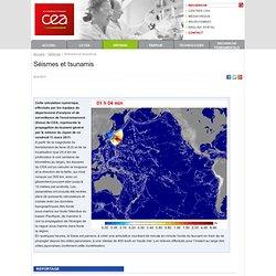 Défense - Séismes et tsunamis