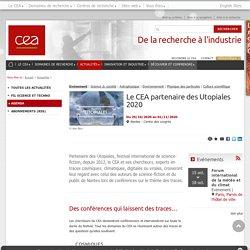 CEA - Le CEA partenaire des Utopiales 2020