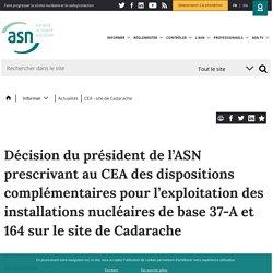 CEA - site de Cadarache