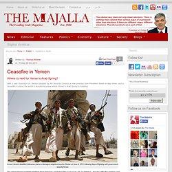 Ceasefire in Yemen | The Majalla