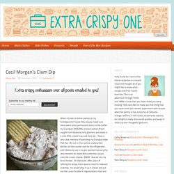 Cecil Morgan's Clam Dip