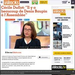 """Cécile Duflot: """"Il y a beaucoup de Denis Baupin à l'Assemblée"""""""