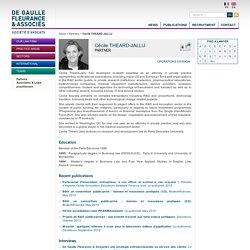 Cécile THEARD-JALLU - De Gaulle Fleurance & Associés
