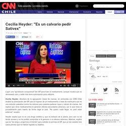 """Cecilia Heyder: """"Es un calvario pedir Sativex"""""""