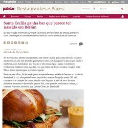 Santa Cecília ganha bar que parece ter nascido em Berlim - Paladar - Estadão