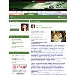 Cecilia Soriano: Por los ashram de India... - Club de la Efectividad