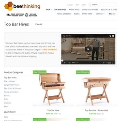 Top Bar Hive Products | Bee Thinking