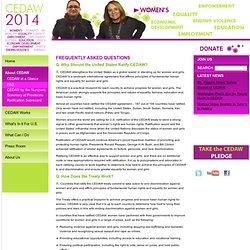 CEDAW 2014 - FAQ