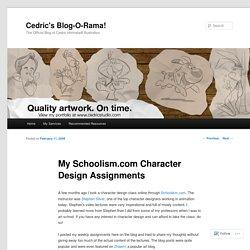Cedric's Blog-O-Rama!