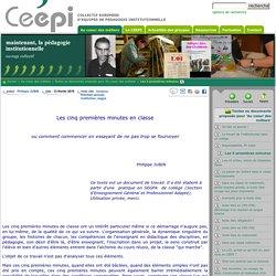 Ceepi - Les 5 premières minutes