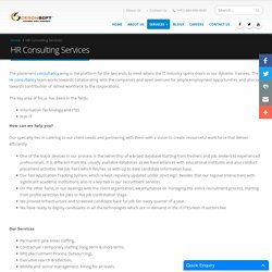 Cegonsoft Hr Consulting Companies in Bangalore, HR Consulting Service