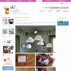 Clouds on the ceiling in Crafts for decorating and home decor, parties and... - StumbleUpon