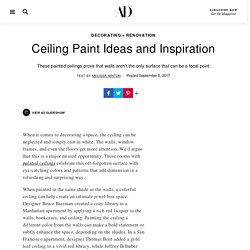 Ceiling Paint Ideas and Inspiration Photos